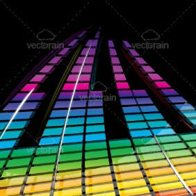 Musical Waves - vector gratuit #212661