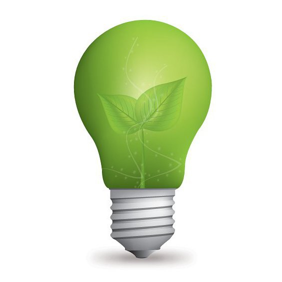 Eco Light Bulb - Free vector #212741