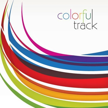 Colorful Track - vector gratuit #212871
