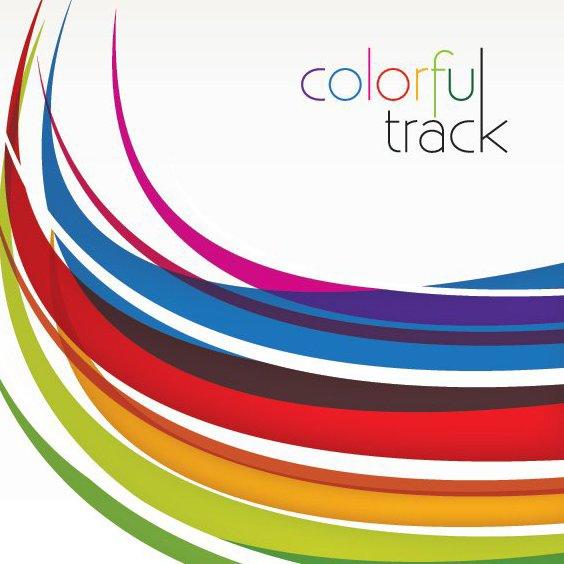 Track coloré - vector gratuit(e) #212871