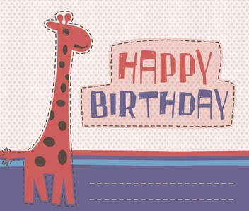 Birthday Invitation - vector gratuit #213021