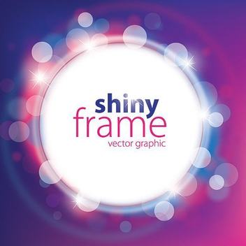 Shiny Frame - vector #213031 gratis