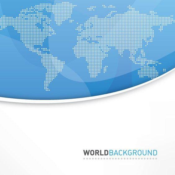 Welt-Hintergrund - Kostenloses vector #213291