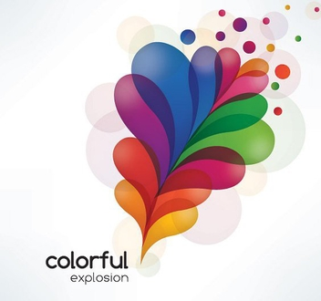 Colorful Explosion - Free vector #213371
