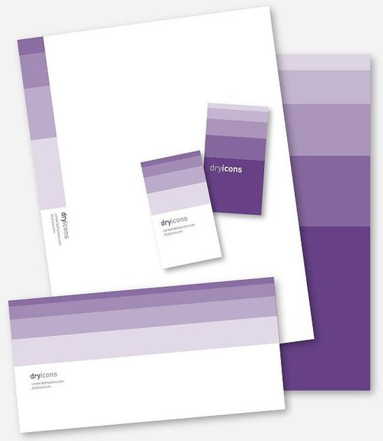 Stylish Stationery Design - Free vector #213551