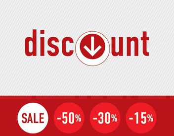 Discount Signs - vector gratuit #213671