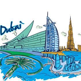 Dubai Vector - Free vector #213821