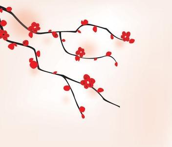 Oriental Tree - Free vector #213971