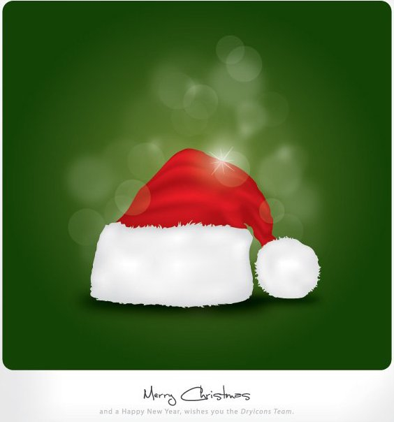 Merry Christmas von Dryicons - Free vector #214731