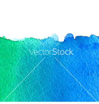 Free watercolor green and blue background vector - Free vector #214911