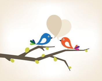Love Tweet 2 - vector #215141 gratis