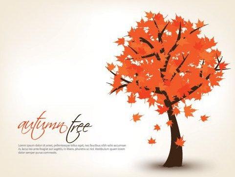 árvore de outono - Free vector #215391