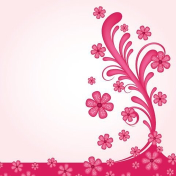 Pinky Wall Decoration - Free vector #215431