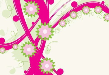 Magenta Striping - vector #215651 gratis