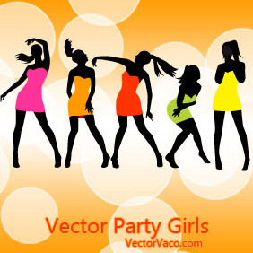 Party Girls - vector #216301 gratis