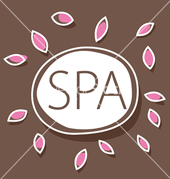 Free abstract logo for spa salon vector - Free vector #216381