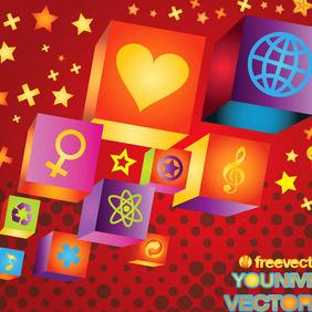 Universal Love - Free vector #216411