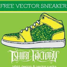 Free Vector Sneaker - Free vector #216491