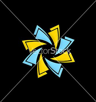 Free circle technology abstract logo vector - Kostenloses vector #216641