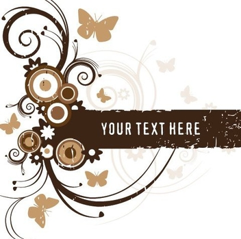 Brown Frame - vector gratuit #216771