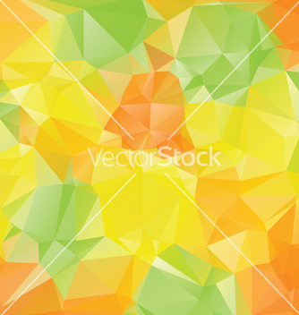 Free green yellow orange polygons3 vector - бесплатный vector #216921