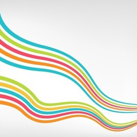 Colorful Background With Lines - vector #216941 gratis