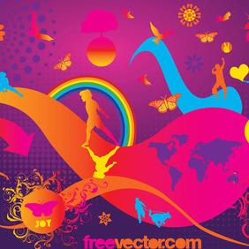 Joy Vector - Free vector #217111