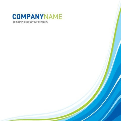 Company Template - Free vector #217201