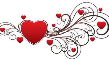 Valentine Heart - Kostenloses vector #217411