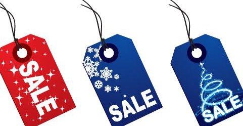 étiquettes de Noël - Free vector #217701