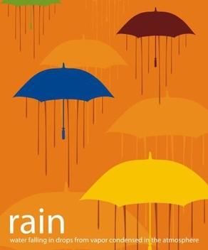 Rain - vector gratuit #217791