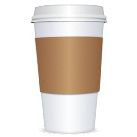 Paper Coffee Cup - vector gratuit #217801