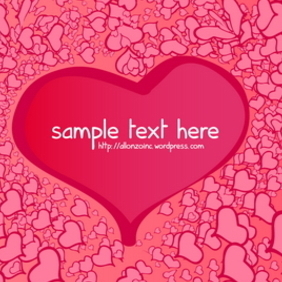 Valentine Card 2 - Free vector #217991