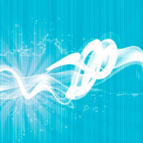 Blue Smoke Vector Design - Free vector #218021