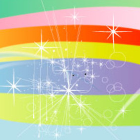 Starsy Colors Vector Background - бесплатный vector #218071
