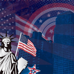 American Background - vector #218141 gratis