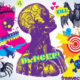 Danger Vectors - Free vector #218241