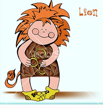 Free leo zodiac vector - Free vector #218281