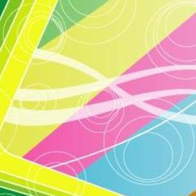 Colored Art Abstract Background - vector gratuit #218391