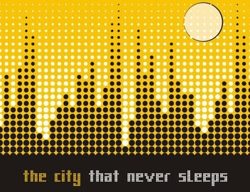 City landscape - vector gratuit #218601