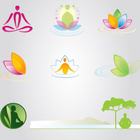 Mediation Logo Object Collection - Free vector #218671