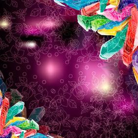 Colored Cristol Vector Design - Free vector #218811
