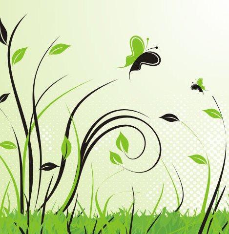 paisaje verde - vector #218931 gratis