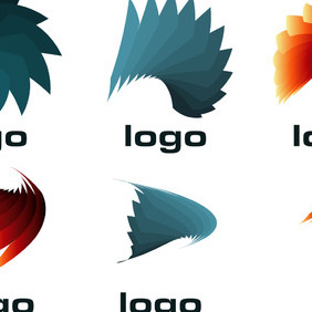 Custom Vector Logo Templates Set 1 - Free vector #219091
