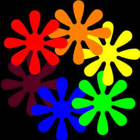 Flower Power - Free vector #219151