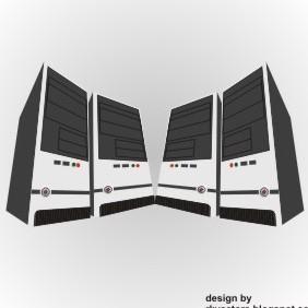 Computer CpuHosting Server Cpu Rkvectors - Free vector #219281
