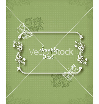 Free floral frame vector - Free vector #219521