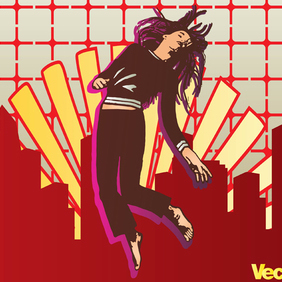 Urban Girl - vector #219621 gratis