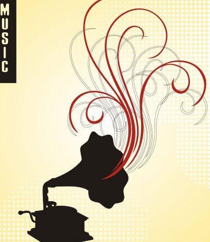 gramófono - vector #219631 gratis