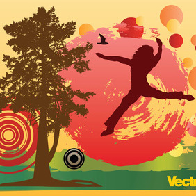 Autumn - vector gratuit #219921